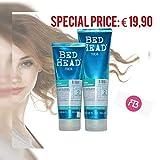 Bed Head by Tigi–urban anti-dotes Recovery shampoo 250ml & recupero condizionatore 200ml