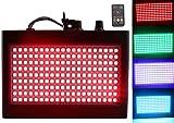 180 LED DJ Lichter, Latta Alvor Disco Licht Flashing Stage Strobe Light für Partys Disco Bühnenbeleuchtung mit Auto Sound aktiviert Fernbedienung (multicolored)