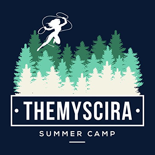 Themyscira Summer Camp Wonder Woman Women's Vest Navy Blue