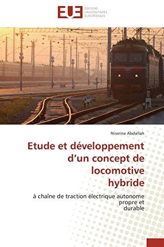 Etude et développement d un concept de locomotive hybride par Nissrine Abdallah