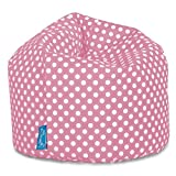 Lounge Pug®, Sitzsack Kinder, Kindersessel, Druck Pink Getupft