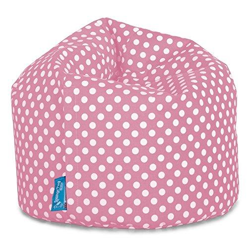 Lounge Pug, Sitzsack Kinder, Kindersessel, Druck Pink Getupft