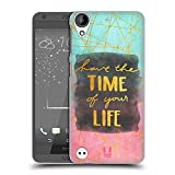 Head Case Designs Time Gold Quotes Hard Back Case