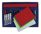 Legamaster 7-435300 Zubehörset für Planung von bis zu 75 Personen/Objekten am Whiteboard-Planer, mit Markern, Magnetsymbolen und magnischen Etikettenträgern