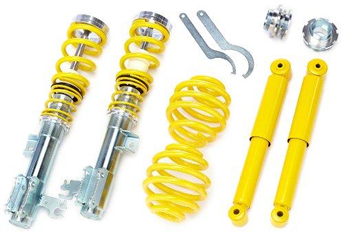 FK Automotive SMOP9023 Gewindefahrwerk von FK Version AK-Street für Opel Vectra C Bj. 04.02 - Komplettes Set VA/HA