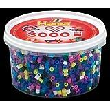 HAMA Beads Midi mix 69 (11 colores) 3000 piezas en bote