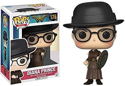 Funko Pop! Film: Wonder Woman - Diana Prince Figurine - Exclusif limité