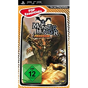 Monster Hunter: Freedom [Essentials] – [Sony PSP]