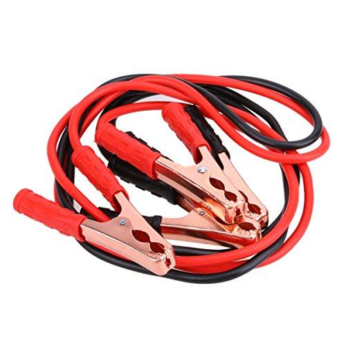 ECYC 1para 2 Mt 500AMP Autobatterie Booster Kabel Notfallzündung Jump Starter Leads Draht Für Auto Van SUV Schwerlast-starthilfekabel