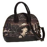 Karactermania Audrey Hepburn New York-Sac à Main Moonlight Umhängetasche, 34 cm, Braun (Brown)