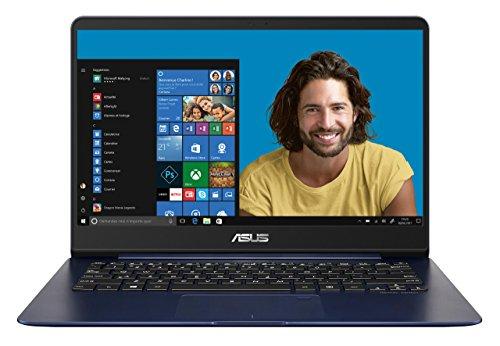 """Asus Zenbook UX430UA-GV509T Ultrabook 14"""" Full HD Bleu Métal (Intel Core i7, 16 Go de RAM, SSD 256 Go, Intel HD graphics 620, Windows 10) Clavier AZERTY"""