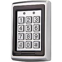 Sharplace Controlador de Acceso de Puerta Prueba de Agua RFID Control de Código Telclado Numérico