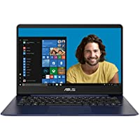 "Asus Zenbook UX430UA-GV509T Ultrabook 14"" Full HD Bleu Métal (Intel Core i7, 16 Go de RAM, SSD 256 Go, Intel HD graphics 620, Windows 10) Clavier AZERTY"