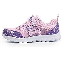 TORISKY Zapatos Deportivos Zapatillas de Velcro Running Zapatillas para Niña