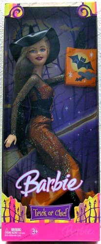 Barbie Colector # J0548 Halloween Trick or chic