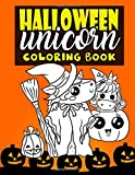 Best Halloween Costume Teen - Halloween Unicorn Coloring Book: For Kids Ages 4-8 Review