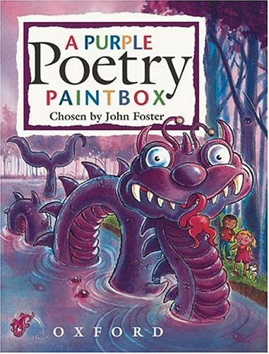 A purple poetry paintbox