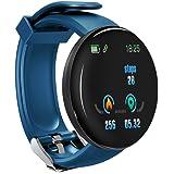 RAIKE Smartwatch con Saturimetro Misuratore Pressione Cardiofrequenzimetro Orologio Fitness, Bluetooth Orologio intelligente