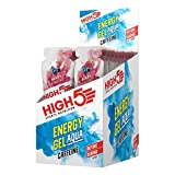 High5 Energy Gel Aqua Koffein 20x66g Berry (Energy Gel Aqua - Caffine)