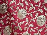 Brokat-Stoff für Jacke, indische Mischseide, für Kostüm,