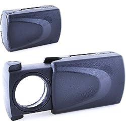 Lupa LED 30x, Lupa Iluminada de Precisión con 30 Aumentos y 21mm de Diámetro, Electrónica Rey®