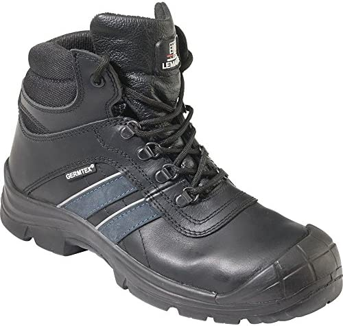 Lemaitre 92238 Tamaño 38 Grande Ancho S3 Andy Aqua Zapatos de Seguridad