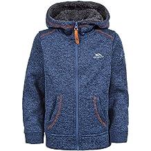 TrespassSaul - Forro polar para niños, Azul (Navy Marl), talla   2/  3