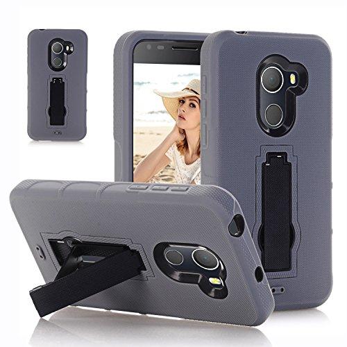 F&a® Festigkeit Smartphone Hülle mit Kickstand für Alcatel A30 Plus(4)