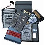Batterie pour Toshiba type PX1685, 1100mAh / 4,1Wh, 3,7V, Li-Ion, noir