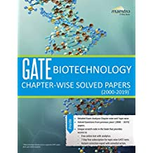 Wiley's GATE Biotechnology Chapter-Wise Solved Papers (2000-2019)