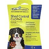 Paños húmedos antipelo FURminator para perros 12 pcs