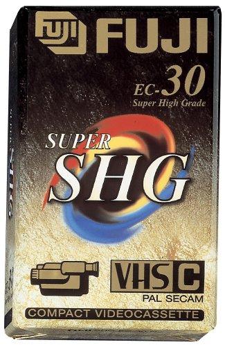 Fuji SHG EC 30 min VHS-C-Videokassette