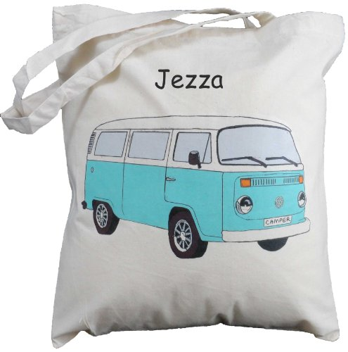 personalised-aqua-vw-bay-camper-van-natural-cotton-shoulder-bag