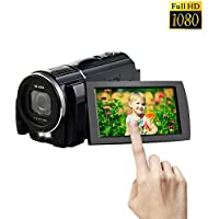 Camcorder video camera 1080p30@ Full HD Digita Camera Close up 24.0 MP Camera 3 Inch LCD Touch Screen Video Recorder