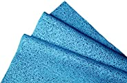 Kimtech Multipurpose Reusable Cleaning Cloth, low lint and High Absorbent Wiper, 50 Sheet, Blue Color (23.7 cm