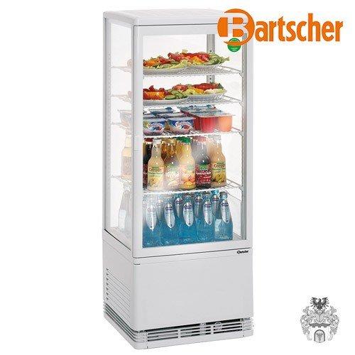 Bartscher Mini Kühlvitrine 98L weiß 84185019 Art. 700198G