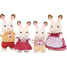 Sylvanian Families - Familia Conejos Chocolate (Epoch para Imaginar 4150)