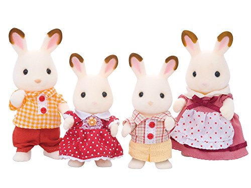 Sylvanian 4150 Families Chocolate Rabbit Family