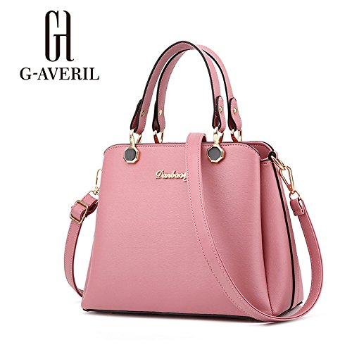 G-AVERIL, Borsa a mano donna rosa Pink Rubber Red