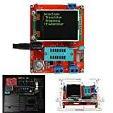DIY-elektronische kit Met CASE KIT, DIY/AGMELD GM328 Transistor Tester Diode Capacitance LCR-generator (Color : Assembled)