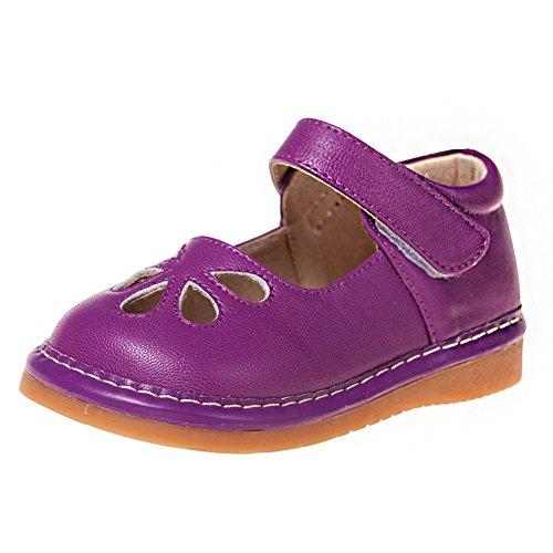 Little Blue Lamb Squeaky Schuhe Ballerinas lila violett Lila