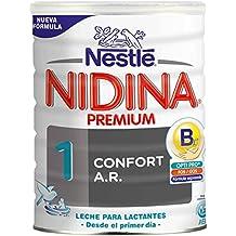 Nidina 1 Premium Confort A.R. - Leche para Lactantes en Polvo - 800 gr