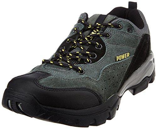 Power Men's All Season Grey Canvas Running Shoes - 8 UK (8392118)