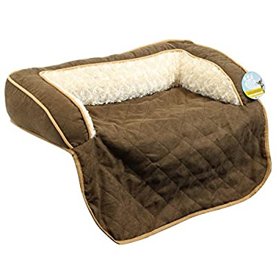 Me & My Pets Brown Quilted Sofa Protector - Choice of Size - inexpensive UK light store.