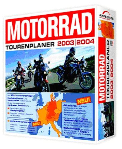 Motorrad Tourenplaner 2003/2004 CD-ROM