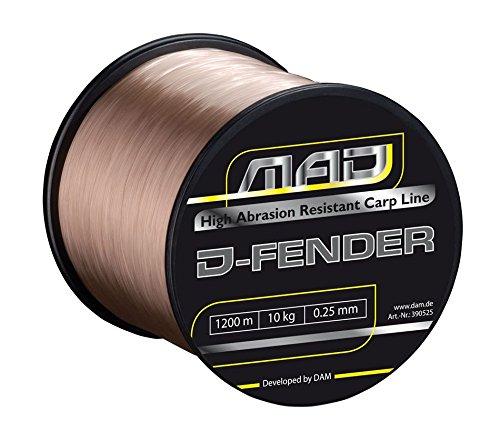 DAM Mad D-Fender Karpfen-Schnur Monofil 0,38mm 11,4kg