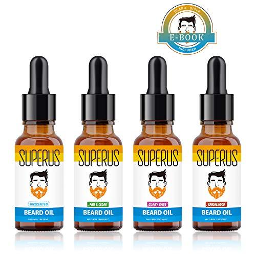 Aceite Barba - 4 Acondicionadores Crecimiento