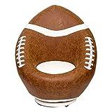 Siège Enfant créatif Unique canapé Ballon de Sport de Basket-Ball Paresseux PU Tourne-Disque avec Repose-Pieds,Rugby