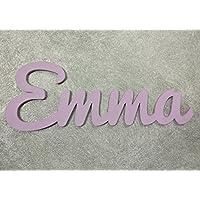 Nombres decorativos infantil de madera para niño y niña, regalos únicos y originales para decoraciones de pared. Nombre puerta habitación, Nombres de madera, Regalos personalizados