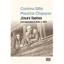 Jours fastes: Correspondance 1942-1979